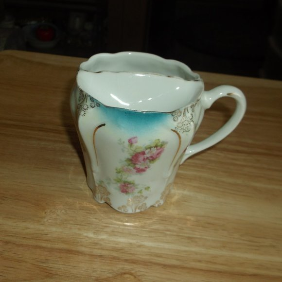 vintage china glass mushtage cup.